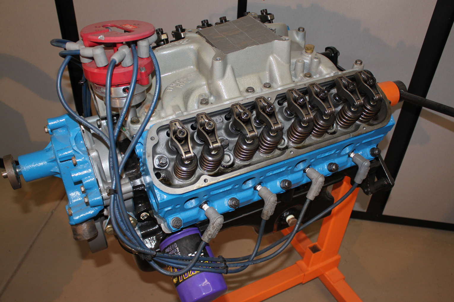 302 Engine left side