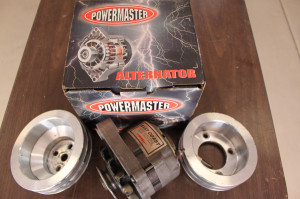 Alternator & Pulleys