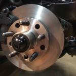 New Front Rotors