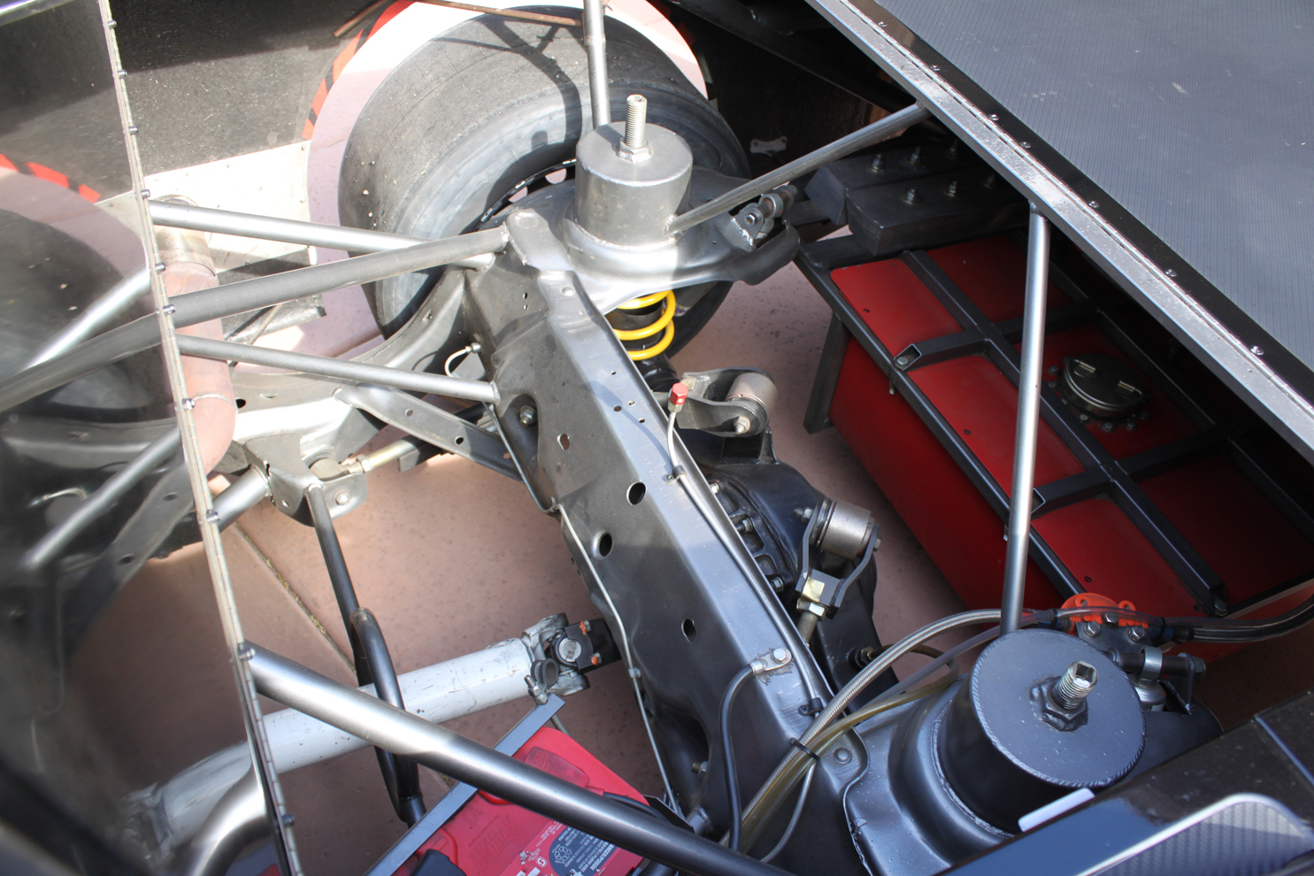 Truck Rear Suspension