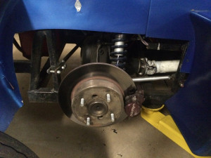Thunder Roadster Rear Brakes